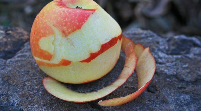 La buccia della mela